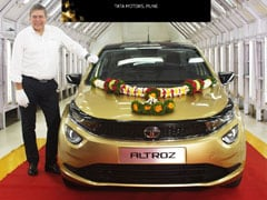 First Tata Altroz Hatchback Rolls Off The Assembly Line; Launch In January 2020