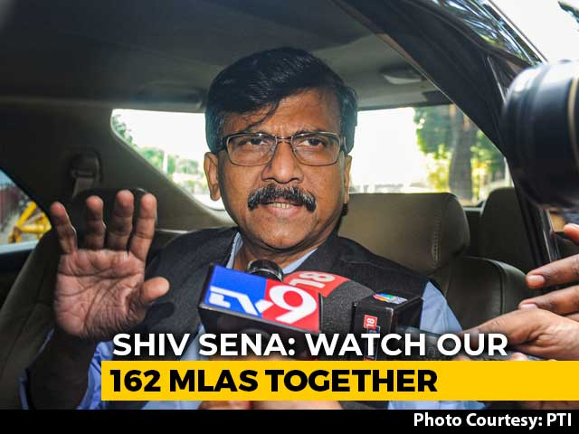 Video : 'Come, See For Yourself': Sena's Sanjay Raut Tweets Teaser To Governor