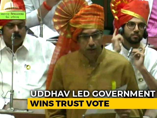 Video : Uddhav Thackeray Government Sails Through Trust Vote After BJP Walkout