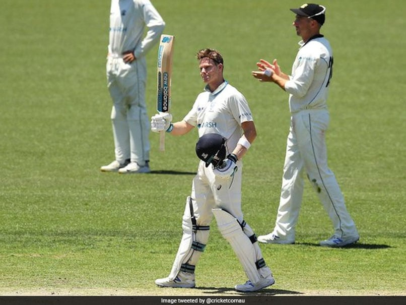 "Watch: Steve Smith Scores His Slowest First-Class Century, Then Has ""Bizarre Dismissal"""