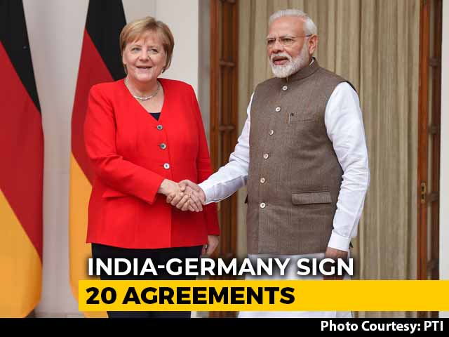 Video : Germany's Expertise Will Be Useful In Plan To Build 'New India': PM