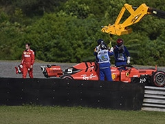 Ferrari Summons Sebastian Vettel, Charles Leclerc After Collision In Brazilian GP