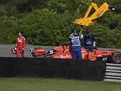 Ferrari Summons Vettel, Leclerc After Collision In Brazilian GP