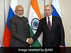 Russia To Deliver S-400 Missiles To India As Planned: Vladimir Putin