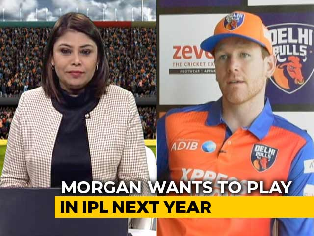 Video : Eoin Morgan Hopeful Of Being Picked At IPL Auction