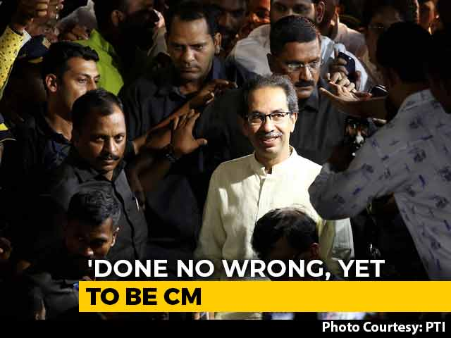 Video : 'We're Giving New Direction To Country': Uddhav Thackeray