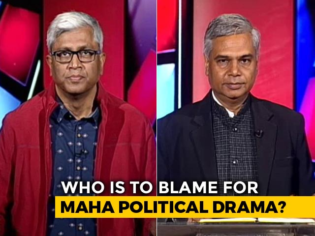 Video : Who Is To Blame For Maharashtra Political Drama?