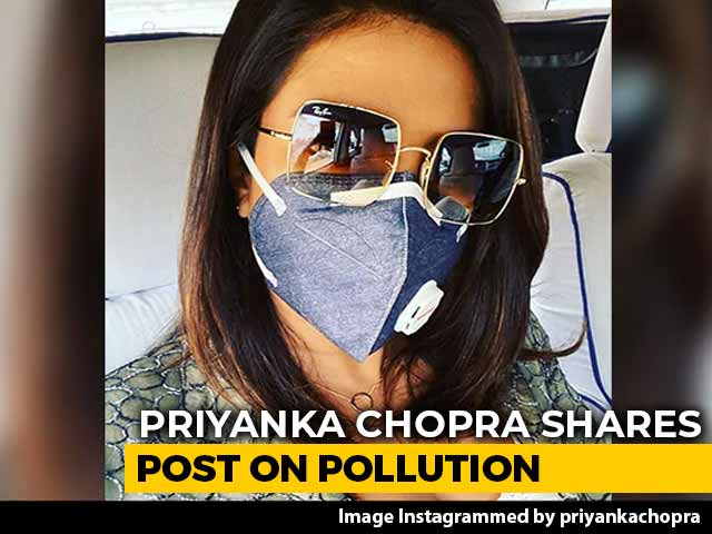 Video : Masked, Priyanka Chopra Shoots In Delhi. 'Be Safe, Everyone,' She Writes