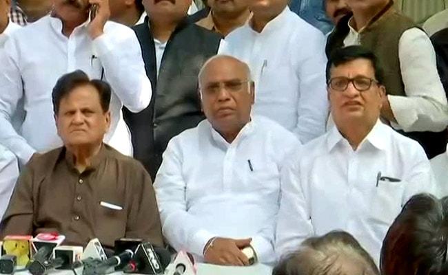 महाराष्ट्र में बीजेपी-एनसीपी की सरकार बनने के बाद कांग्रेस की प्रेस कांफ्रेंस, कही ये 5 बड़ी बातें