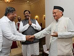 महाराष्ट्र में असमंजस जारी, बीजेपी ने राज्यपाल से की मुलाकात, शिवसेना ने विधायकों को होटल भेजा