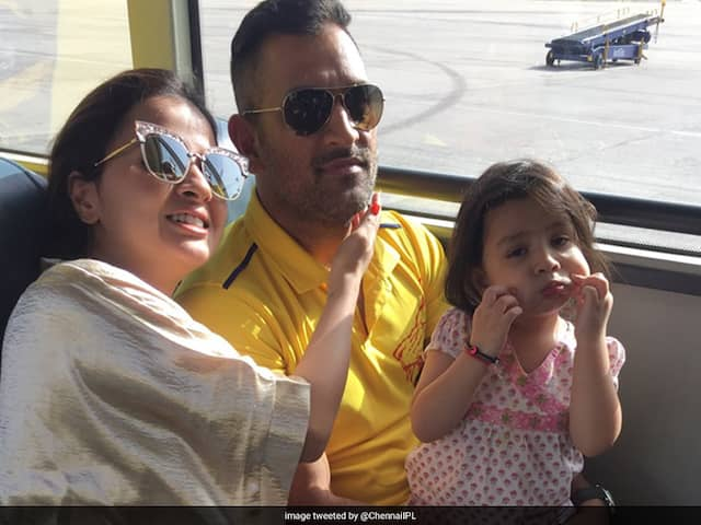 "On Sakshi Dhoni's Birthday, CSK Wishes ""Queen Of The Jungle"""