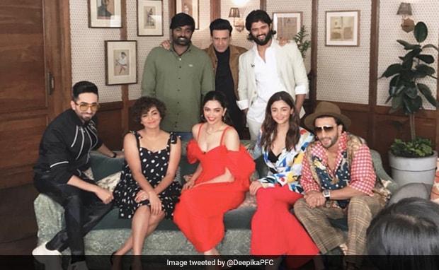 Seen This Blockbuster Pic Of Deepika Padukone, Ranveer Singh, Alia Bhatt, Vijay Deverakonda And Other Stars?