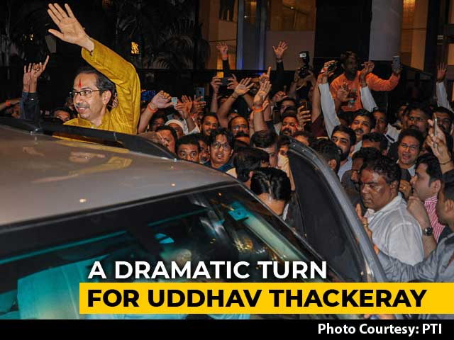 Video : Uddhav Thackeray, Low-Key Heir Of Bal Thackeray, Takes A Bold Leap