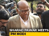 Video : Sharad Pawar-PM Modi Meet On Farm Crisis 2 Days After Rajya Sabha Praise