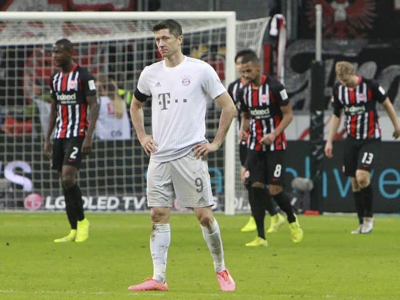 Eintracht Frankfurt vs Bayern Munich: Eintracht Frankfurt Thrash 10-Man Bayern Munich 5-1 In Bundesliga