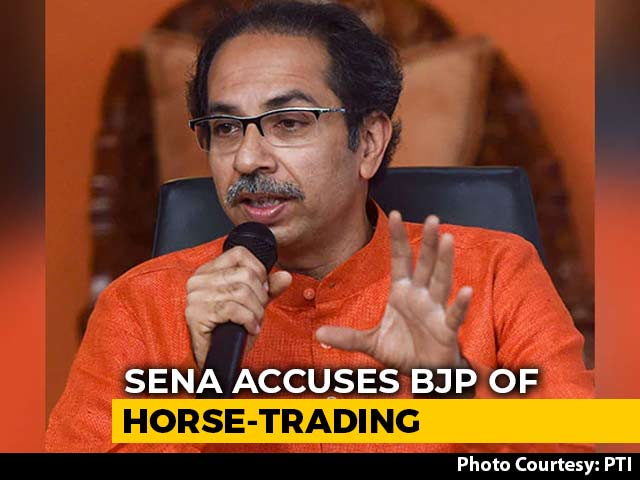 """Video : """"Like Match-Fixing..."""": Shiv Sena Accuses BJP Of Horse-Trading Attempts"""