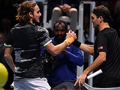 ATP Finals: Stefanos Tsitsipas Beats Roger Federer To Reach Final