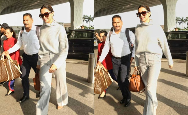 Deepika Padukone Just Raised The Bar For Autumn Fashion In Shades Of Grey