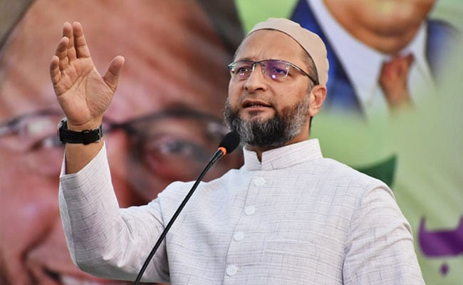 "Asaduddin Owaisi ""Has His Own Agenda"": BJP Leader On Ayodhya Order Remark"