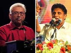 """It's """"Terminator"""" Rajapaksa Vs """"Pad Man"""" Premadasa In Sri Lanka Polls"""