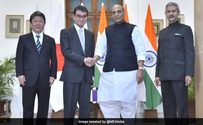 Rajnath Singh, S Jaishankar Lead First 2+2 Dialogue With Japan
