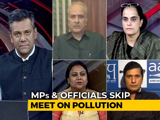 Video : As Millions Breathe Killer Air, Ministers Skip Meeting