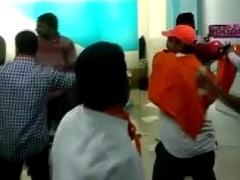 Shiv Sena Supporters Accused Of Damaging Insurance Firm's Pune Office