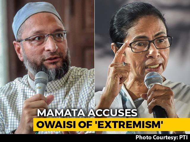 "Video : Mamata Banerjee vs Asaduddin Owaisi After Her ""Minority Extremism"" Remark"
