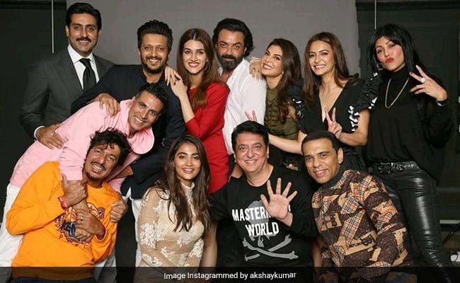 Inside Akshay Kumar's 'Fun Night' With Abhishek Bachchan, Jacqueline Fernandez And Other Housefull Stars