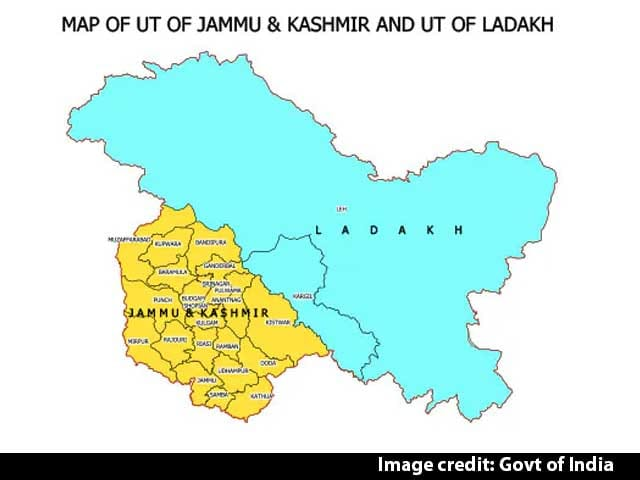 Video: New Map Of India Shows Union Territories Of Jammu And Kashmir, Ladakh