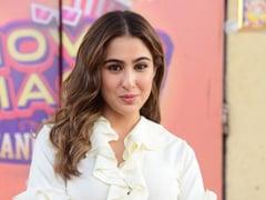 Sara Ali Khan Gives A Retro Spin To Ethnic Wear In A Ruffled <i>Kurta</i>