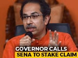 Video : Shiv Sena Invited To Stake Claim In Maharashtra As BJP Refuses