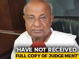 Video : Supreme Court Verdict Means Karnataka Government Is Safe: HD Deve Gowda