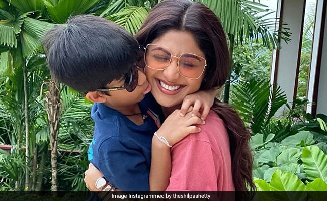 Shilpa Shetty's 'New Year Binge' Was Prepared By Son Viaan (See Pics Inside)