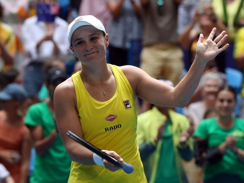 "Fed Cup Final: Ashleigh Barty Produces ""Best Ever"" Tennis To Draw Australia Level vs France"