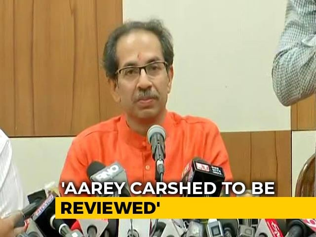 Video : Uddhav Thackeray Orders Review Of Metro Car Shed Work In Mumbai's Aarey