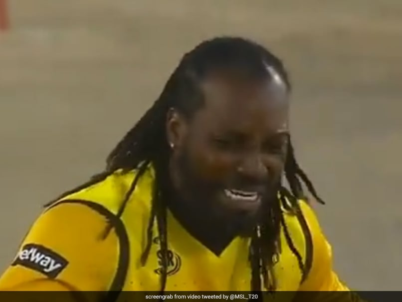 Chris Gayles Funny Appeal In Mzansi Super League Leaves Umpire Smiling. Watch