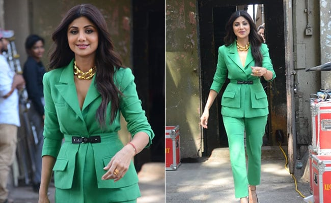 Suit Up Like Shilpa Shetty In Colourpop Blazers This Winter 2019