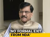 Video : Sanjay Raut Complains About Parliament Seat Change