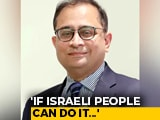 "Video : ""If Israeli People Can Do It..."": Row Over Indian Diplomat's J&K Remarks"