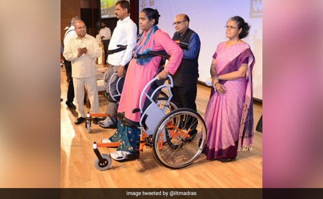 Country's First Indigenously Designed Standing Wheelchair Launched