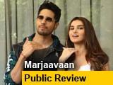 Video : Marjaavaan Public Review: जनता से जानें कैसी है Sidharth Malhotra और Riteish Deshmukh की फिल्म