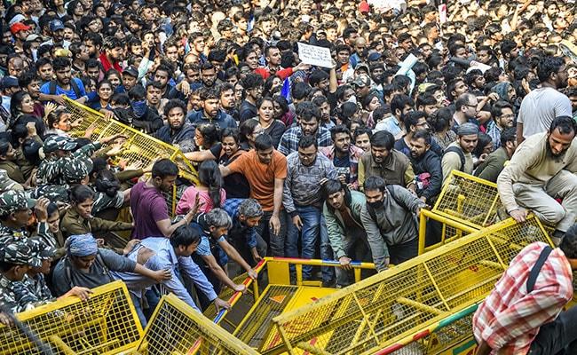 JNU Students' Protest: Police Register 2 Complaints