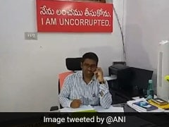 "Telangana Official Puts Up ""I Am Uncorrupted"" Board In Office"