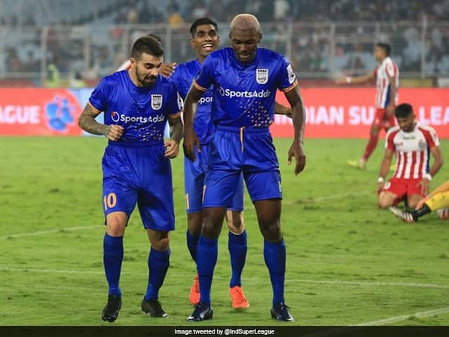 ISL: ATK, Mumbai City Play Out Thrilling 2-2 Draw