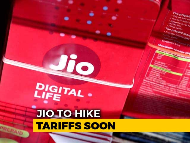 Video : After Airtel And Vodafone-Idea, Reliance Jio To Hike Mobile Tariffs