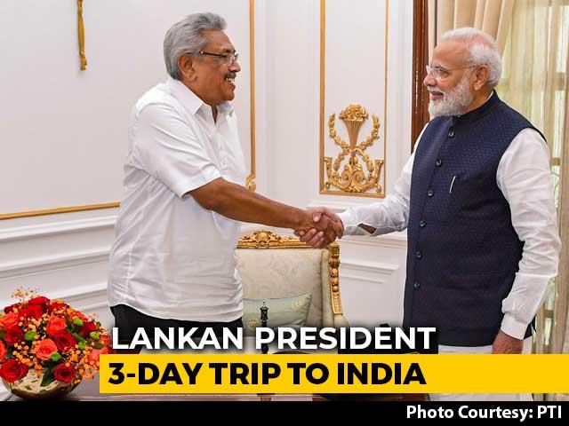 Video : PM Modi Announces $450 Million Line Of Credit To Sri Lanka