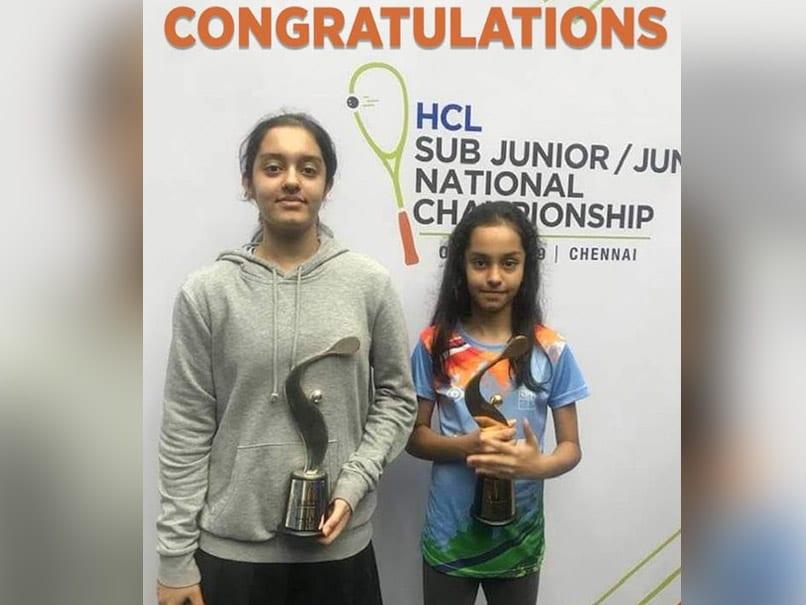 SQUASH: Amira और Anahat ने अपने-अपने  वर्गों में जीते खिताब