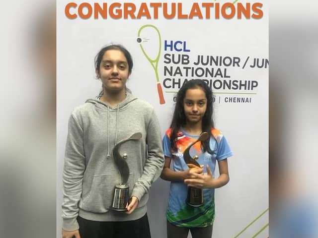 SQUASH: Amira & Anahat wins the title in respective categories