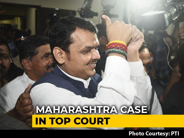 Video : No Maharashtra Floor Test For Now, Top Court Asks For 2 Letters Today